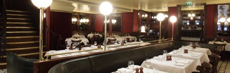 Chic, lower-priced London bistro, Les Deux Salons, opened in October