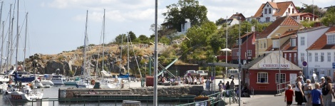 Bornholm's topography blends pristine shores, quaint ports, and gently rolling farmland