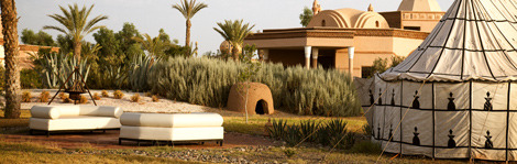 The Terre Resort & Spa in Palmeraie, just outside Marrakech