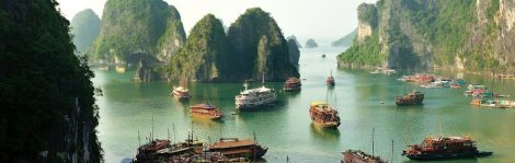 A Halong Bay cruise is just one stop on this entrancing, exotic itinerary