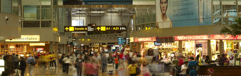Singapore's Changi Airport houses 230 airport stores, from duty-free outlets to flower shops
