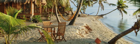 The Turtle Inn welcomes guests to powder-soft sands in Hopkins, Belize, one of our favorite picks for Central American beaches