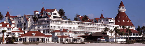 Hotel del Coronado in San Diego dates to 1888