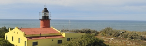 Argentina's Faro Punta Delgada operates as an historic lighthouse hotel