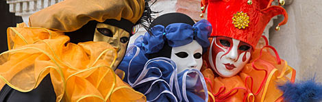 Masks are a major part of Venice
