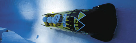 Bobsledding in St. Moritz, Switzerland – one of our 10 best former Winter Olympic host cities